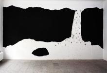 Wandmalerei, Feuerwerk ::: Aoife van Linden Tol